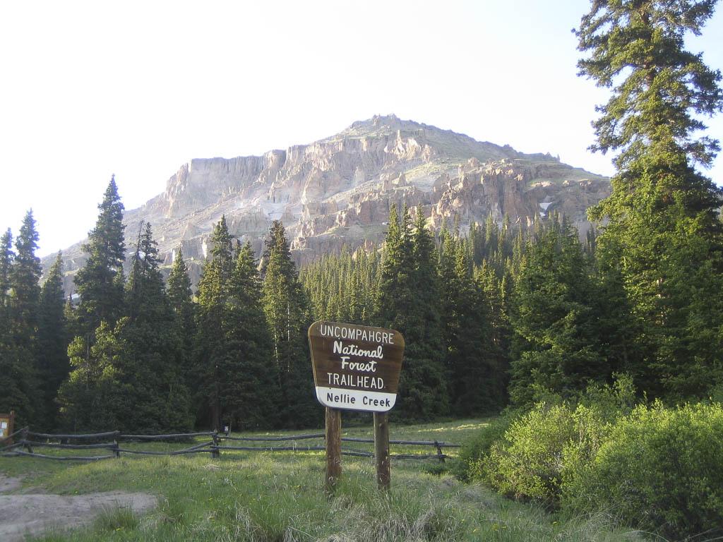 Nellie Creek Trailhead