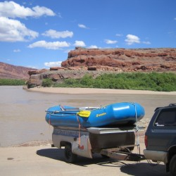 Pot Ash Boat Launch, Moab, UT
