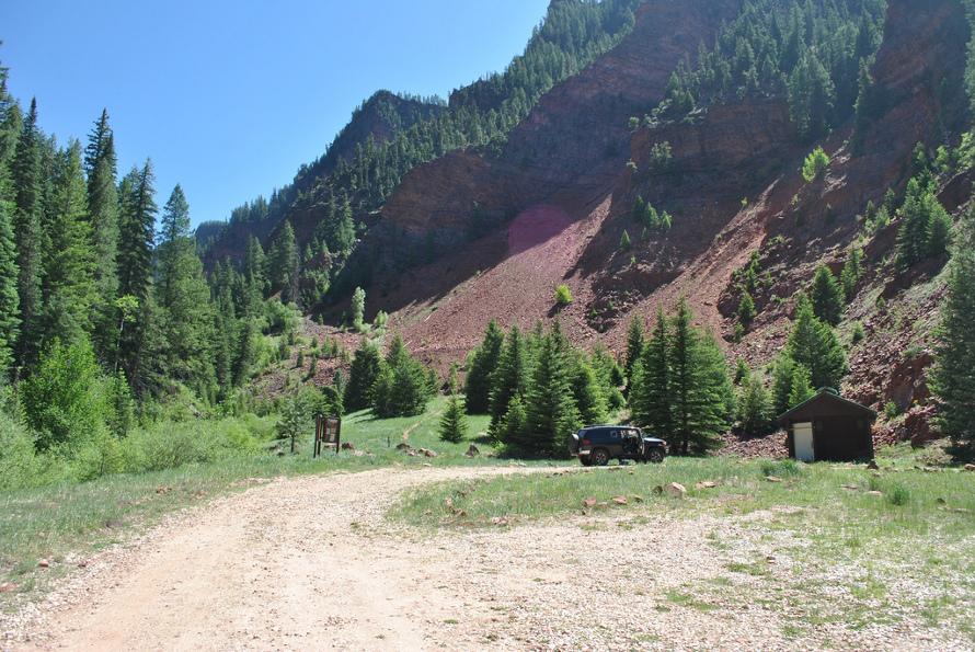 Rocky Fork Creek Trailhead