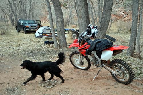 Camping in Gateway, Colorado