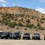 Cruise Moab 2012, Kokopelli trailhead