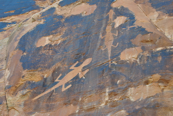 Lizard Petroglyph, Dinosaur National Monument