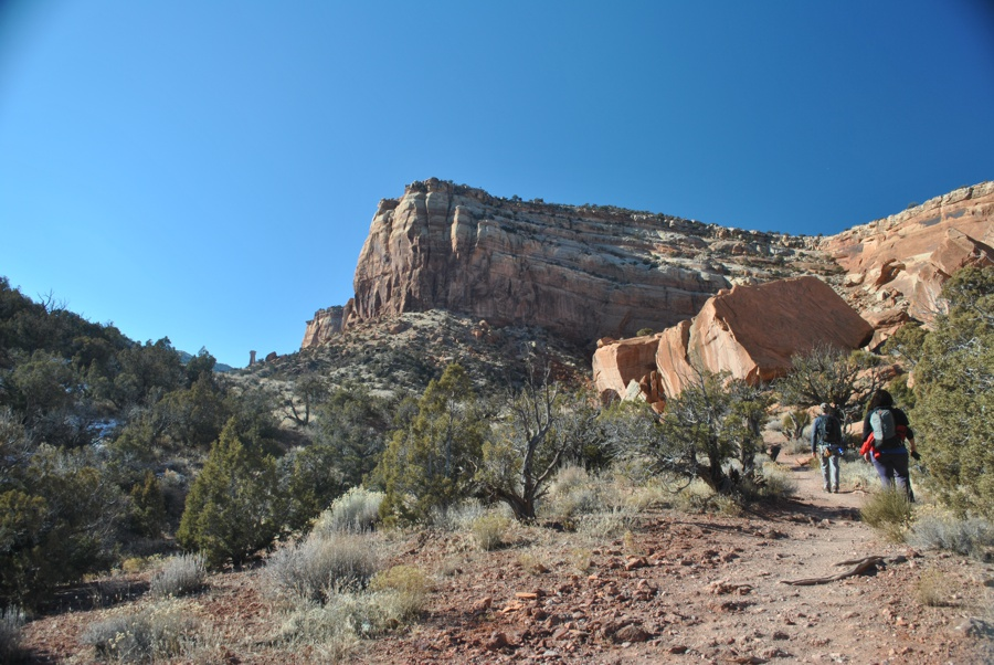 Hiking to Otto's Route
